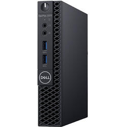 OptiPlex 3070 MFF, Intel Core i3-9100T, 8GB DDR4, 256GB SSD, GMA UHD 630, Win 10 Pro