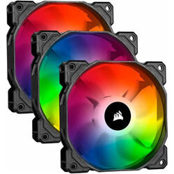 iCUE SP120 RGB PRO Performance 120mm Triple Fan Kit cu Lighting Node CORE