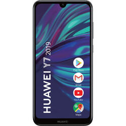 Y7 (2019), 6.26 inch IPS, Octa Core, 32GB, 3GB RAM, Dual SIM, 4G, 3-Camere, Midnight Black