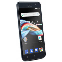 Fun6 Lite, 5.0 inch, Quad Core, 8GB, 512MB RAM, Dual SIM, 3G, Grey