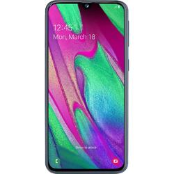 Galaxy A40 (2019), 5.9 inch Super AMOLED, Octa Core, 64GB, 4GB RAM, Dual SIM, 4G, 3-Camere, Fast Charge, Black
