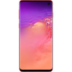 Galaxy S10, 6.1 inch Dynamic AMOLED, Octa Core, 128GB, 8GB RAM, Dual SIM, 4G, 4-Camere, Cardinal Red