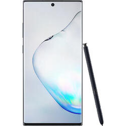 Galaxy Note 10 Plus, 6.8 inch Dynamic AMOLED, Octa Core, 256GB, 12GB RAM, Dual SIM, 4G, 5-Camere, Aura Black