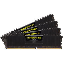 Vengeance LPX, 32GB DDR4, 3600MHz, CL18, 4x8GB, 1.35V