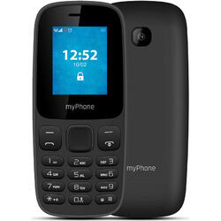 3330, Dual Sim, 1.77 inch TFT, Bluetooth, Black