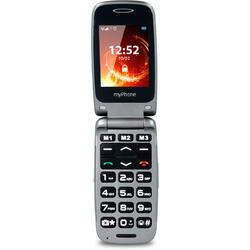Rumba, Single Sim, 2.4 inch TFT, 128 MB, 64 MB RAM, Bluetooth, Grey