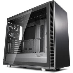 Define S2 Gunmetal, Tempered Glass, MiddleTower, Fara sursa, Negru