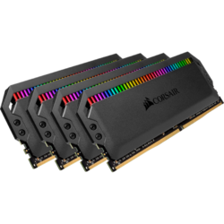 Dominator Platinum RGB 64GB DDR4 3600MHz CL16 Quad Channel Kit