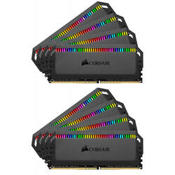Dominator Platinum K8 RGB, 64 GB DDR4, 4000 MHz, C19, Quad Channel Kit