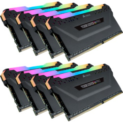 Vengeance RGB PRO 64GB DDR4 4000MHz CL19 Quad Channel Kit