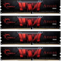 Aegis 32GB DDR4 3200MHz CL16 1.35v Quad Channel Kit