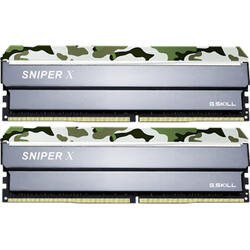 Sniper X Classic Camo 32GB DDR4 3200MHz CL16 1.35v Dual Channel Kit