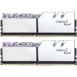 Trident Z Royal RGB Silver 16GB DDR4 4000MHz CL19 1.35v Dual Channel Kit