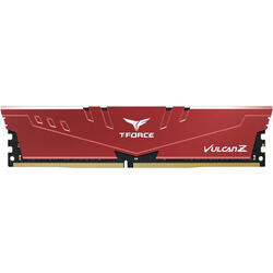 T-Force Vulcan Z Red 8GB DDR4 2666MHz CL18