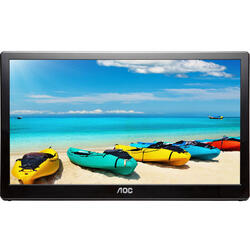 Portabil 15.6 inch 5 ms Black 60Hz