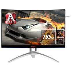 Gaming AG272FCX6 Curbat 27 inch 1 ms Black FreeSync 165Hz