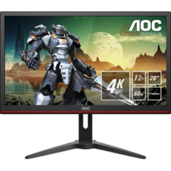 Gaming G2868PQU 28 inch 4K 1ms Black FreeSync 60Hz