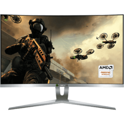 Gaming GMX27W 27 inch Curbat 1 ms Silver FreeSync 144Hz