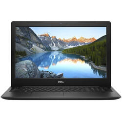 Inspiron 3584, 15.6'' FHD, Intel Core i3-7020U, 4GB DDR4, 1TB, GMA HD 620, Linux, Black, 2Yr CIS