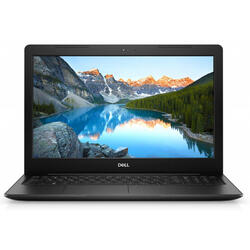 Inspiron 3593, 15.6'' FHD, Intel Core i5-1035G1, 8GB DDR4, 256GB SSD, Intel UHD Graphics, Linux, Black, 2Yr CIS