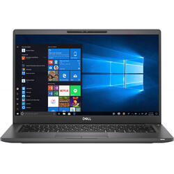 Latitude 7400, 14'' FHD, Intel Core i5-8365U, 16GB DDR4, 256GB SSD, Intel UHD 620, Win 10 Pro, Black