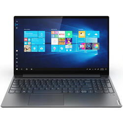 Yoga S740, 15.6'' FHD IPS, Intel Core i9-9880H, 16GB DDR4, 1TB SSD, GeForce GTX 1650 4GB, Win 10 Home, Iron Grey