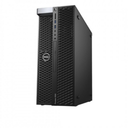Precision 5820 Tower, Intel Core i9-9820X, 32GB DDR4, 256GB SSD, 2TB HDD, Quadro RTX 4000 8GB, Win 10 Pro