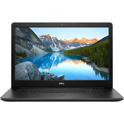 Inspiron 17 3793, 17.3'' FHD, Intel Core i7-1065G7, 8GB DDR4, 128GB SSD + 1TB 5400, nVidia GeForce MX230 2GB, Linux, Black, 2Yr CIS