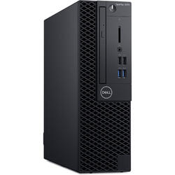 Optiplex 3070 SFF, Intel Core i5-9500, 4GB RAM, 1TB HDD, Intel UHD Graphics 630, Windows 10 Pro, 3Yr NBD