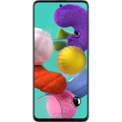 Galaxy A51 (2020), Octa Core, 128GB, 4GB RAM, Dual SIM, 4G, 5-Camere, Prism Crush White