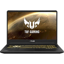 Gaming TUF FX705DT, 17.3'' FHD, AMD Ryzen 7 3750H, 8GB DDR4, 512GB SSD, GeForce GTX 1650 4GB, No OS, Black