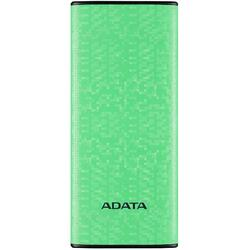 P10000, 10000mAh, 2x USB, Green