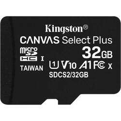 Canvas Select Plus microSDHC 32GB, Clasa 10