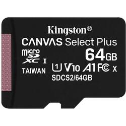 Canvas Select Plus microSDXC 64GB, Clasa 10