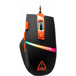 Sulaco RGB, USB, Black-Orange