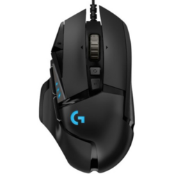 G502 HERO, USB, Black