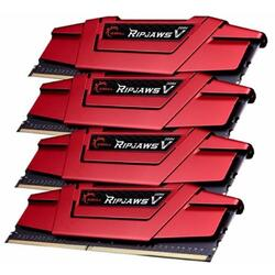 Ripjaws V 16GB DDR4 2400MHz CL15 1.2v Quad Channel Kit