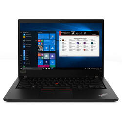ThinkPad P43s, 14'' FHD IPS, Intel Core i7-8565U, 16GB DDR4, 1TB SSD, Quadro P520 2GB, Win 10 Pro, Black