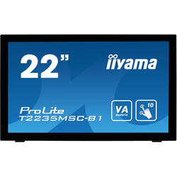 PROLITE T2235MSC-B1, 21.5 FHD Touch, 6 ms, Black