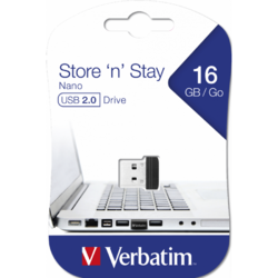 Store n Stay Nano, 16GB, USB 2.0, Black