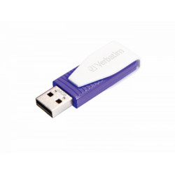 Store n Go Swivel, 64GB, USB 2.0, Violet
