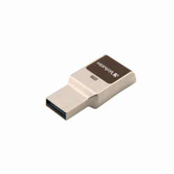 Fingerprint Secure, 32GB, USB 3.0, Aluminium