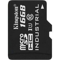 Micro SDHC Industrial, 16GB, Clasa 10, UHS-I