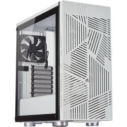 Carbide Series 275R Airflow, MiddleTower, Fara sursa, Negru-Alb