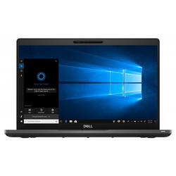 "Latitude 5400, 14"" FHD, Intel Core i5-8250U, 8GB DDR4, 256GB SSD, GMA UHD 620, Figerprint Win 10 Pro, Black, 3Yr On-site"