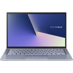 "ZenBook 14 UX431FA,14"" FHD, Intel Core i7-10510U, 8GB, 512GB SSD, GMA UHD, No OS, Utopia Blue"