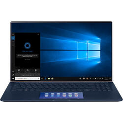 "ZenBook 15 UX534FAC, 15.6"" FHD, Intel Core i7-10510U, 8GB, 512GB SSD, GMA UHD, Win 10 Pro, Royal Blue"