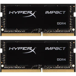 HyperX Impact, 16GB, DDR4, 2400MHz, CL14, 1.2v, Dual Channel Kit