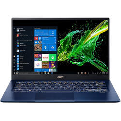 Swift 5 SF514-54T, 14'' FHD IPS Touch, Intel Core i7-1065G7, 16GB DDR4, 512GB SSD, GMA Iris Plus, Win 10 Pro, Blue
