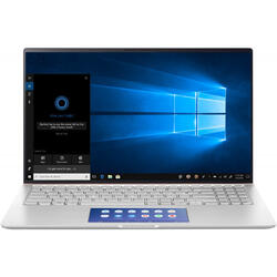 ZenBook 15 UX534FAC, 15.6'' UHD, Intel Core i7-10510U, 8GB, 512GB SSD, GMA UHD, Win 10 Home, Icicle Silver